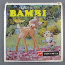 Bambi - Pochette de 3 View Master 3-D
