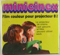 Bambi - Super 8 Movie Color - Minicinex / Cinemat (Meccano France) -  Bambi & Thumper Ice Skating (ref.43412)