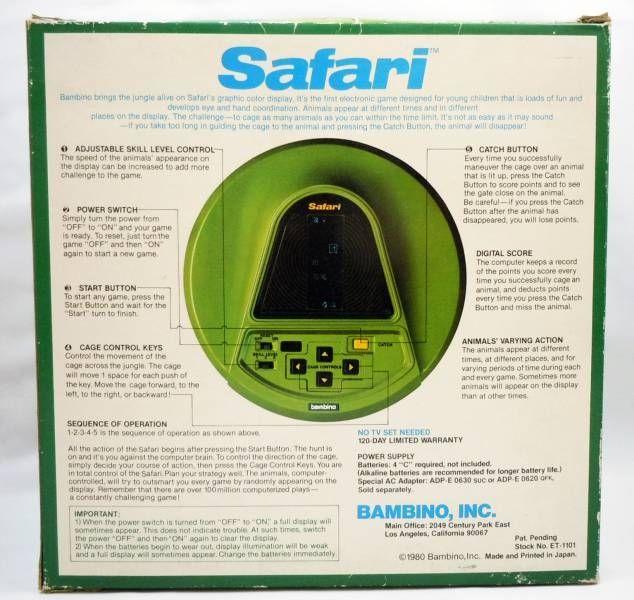 Bambino - Table Top - Safari