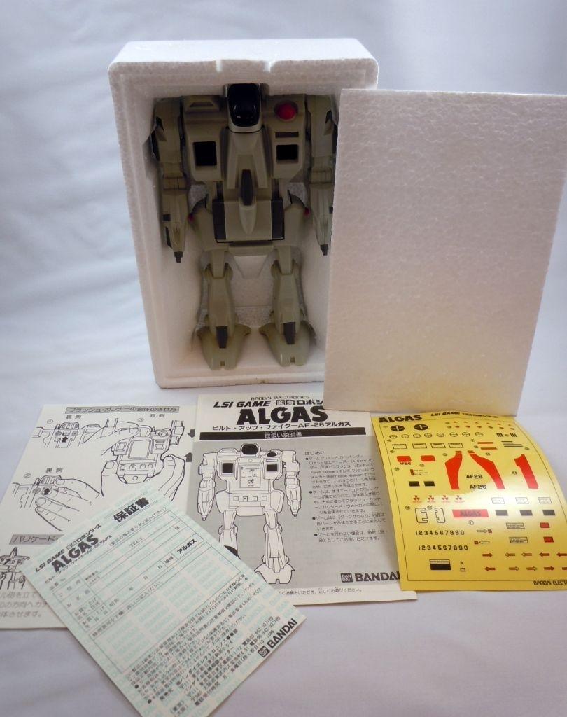 Bandai Electronics - Handheld Game - Algas Robot (neuf en boite japonaise) 07