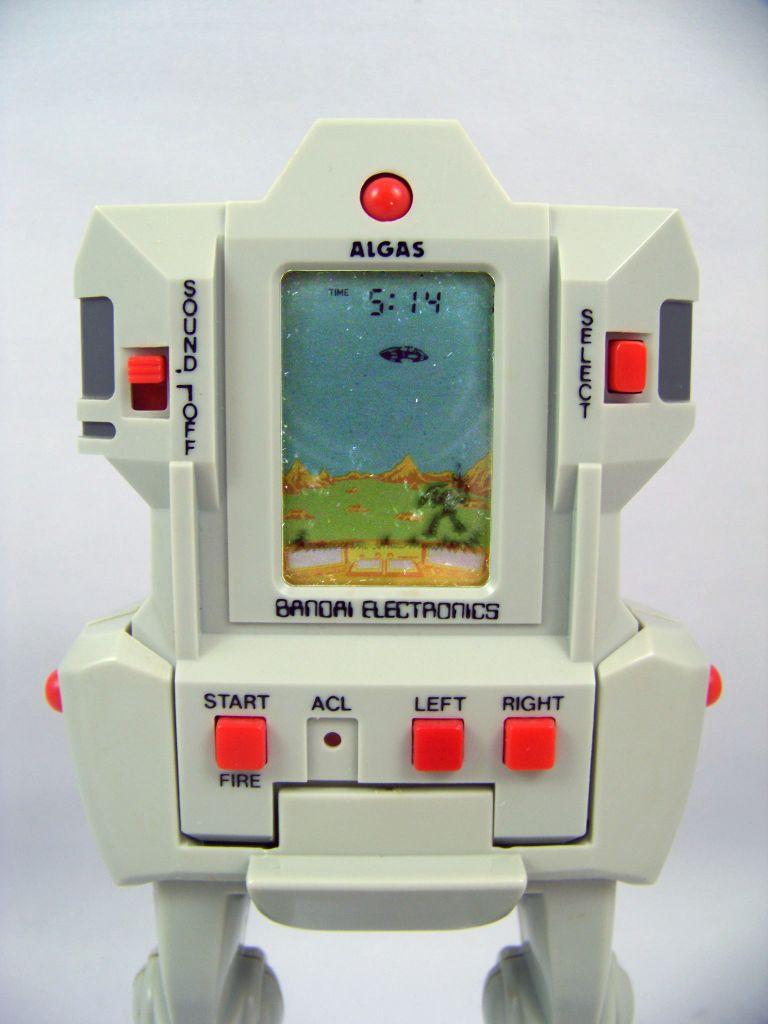 Bandai Electronics - Handheld Game - Algas Robot (mint in japanese box)