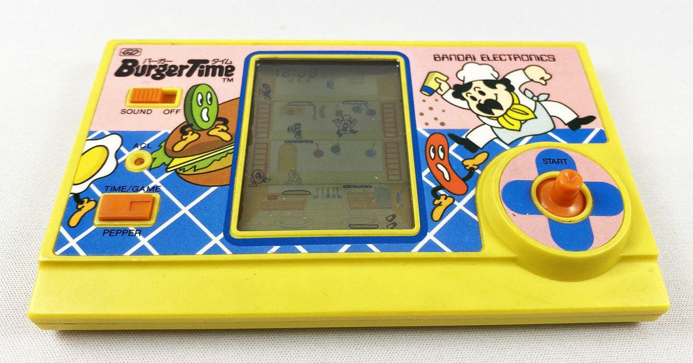 Bandai Electronics - Handheld Game - Burger Time (occasion)