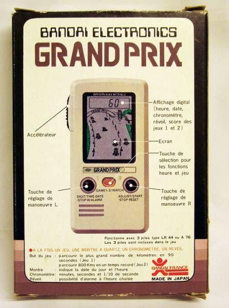Bandai Electronics - Handheld Game - Grand Prix