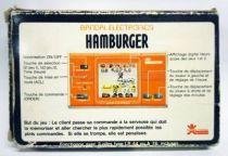 Bandai Electronics - Handheld Game - Hamburger Shop