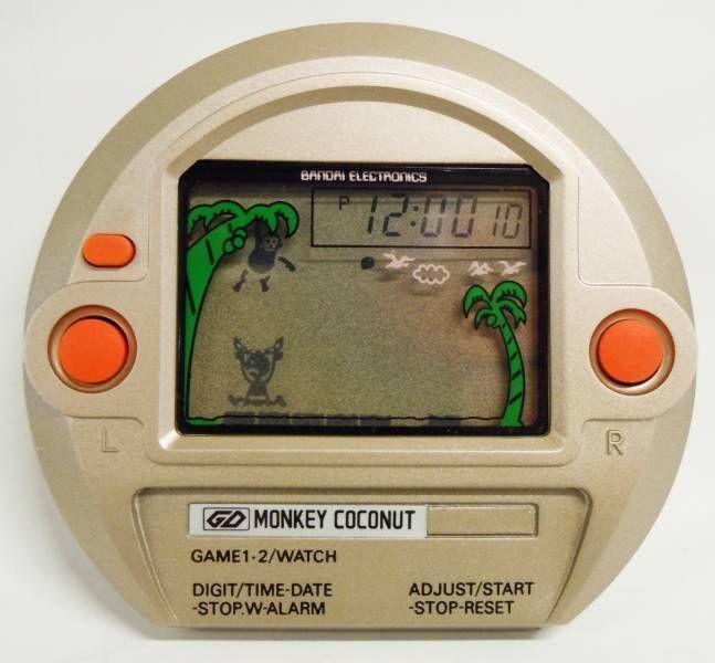 Bandai Electronics - Handheld Game - Monkey Coconut (neuf en boite)