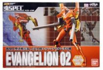 Bandai Soul of Chogokin XS-08 Evangelion 02 Production Model