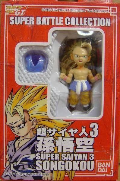 Bandai Super Battle Collection Super Saiyan 3 Son Goku