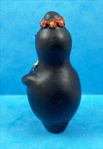 Barbapapa - Figurine PVC Plastoy - Barbamama avec fleurs