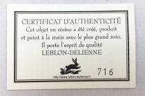 Barbapapa - Grande Figurine Résine Leblon- Delienne - Barbamama (noire)