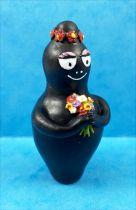 Barbapapa - Plastoy PVC Figure - Barbamama with flowers