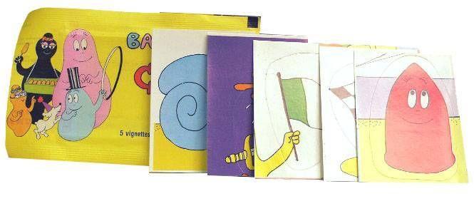Barbapapa - Set of 5 Stickers Barbapapa