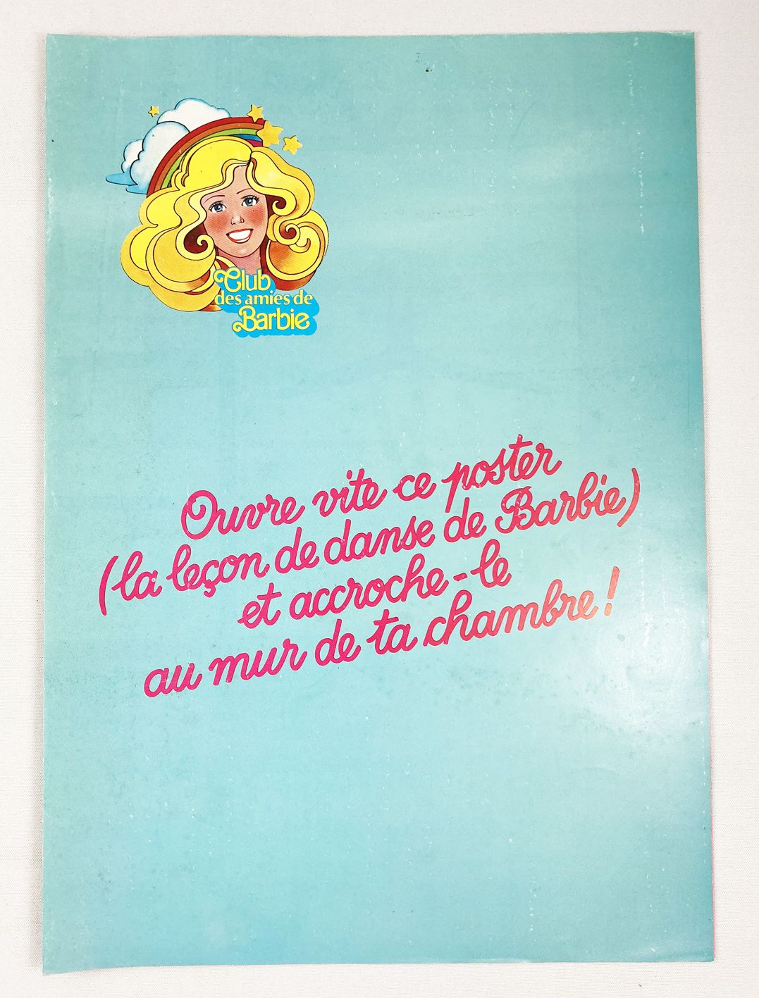 "Barbie - 1983 Mattel Promo Kit - Barbie Star \""Super-Dance\"""