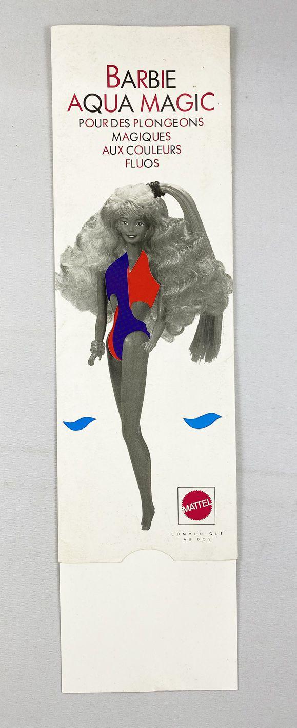 Barbie - 1989 Mattel Fance Promo Advertising - Barbie Aqua Magic