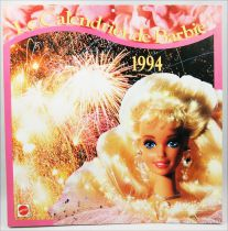 Barbie - 1994 Monthly Calendar