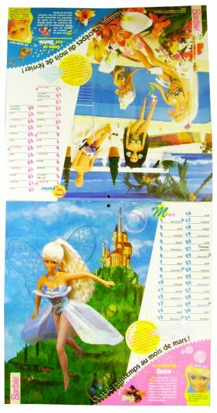 Barbie - 1995\'s New Year Calendar