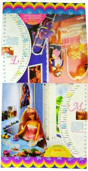 Barbie - 1996\'s New Year Calendar