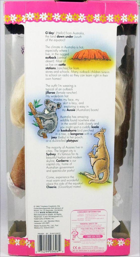 "Barbie - Australian Barbie \""Dolls of the World Collection\"" - Mattel 1992 (ref. 3626)"