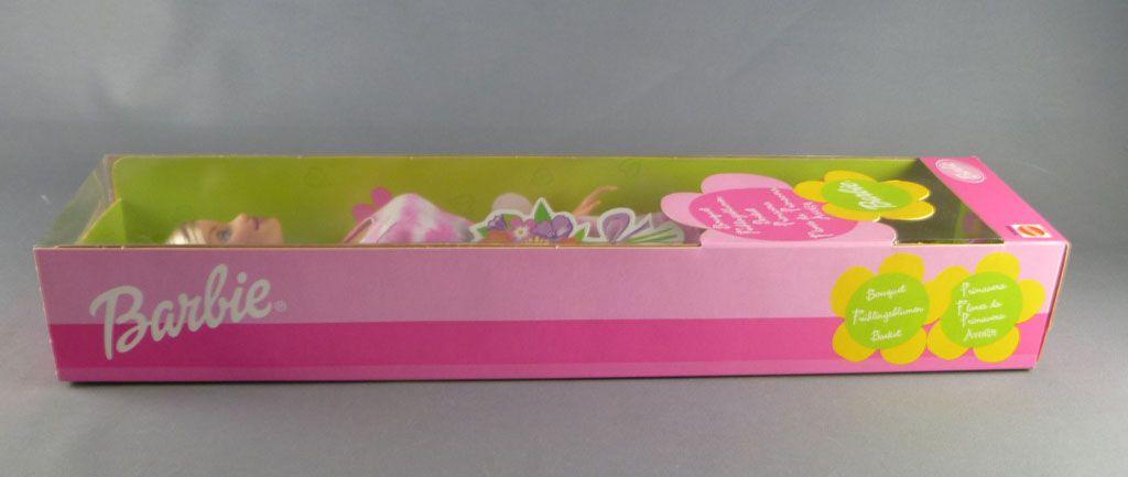 Barbie - Barbie Bouquet robe rose & blanche - Mattel 2001 (ref. 53858)