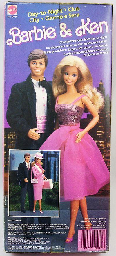 Barbie - Day-to-Night Ken Club City - Mattel 1984 (ref.9019)