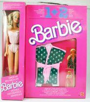 Barbie - Dress Me Barbie Modèle avec 2 habillages - Mattel 1988 (ref.3370)