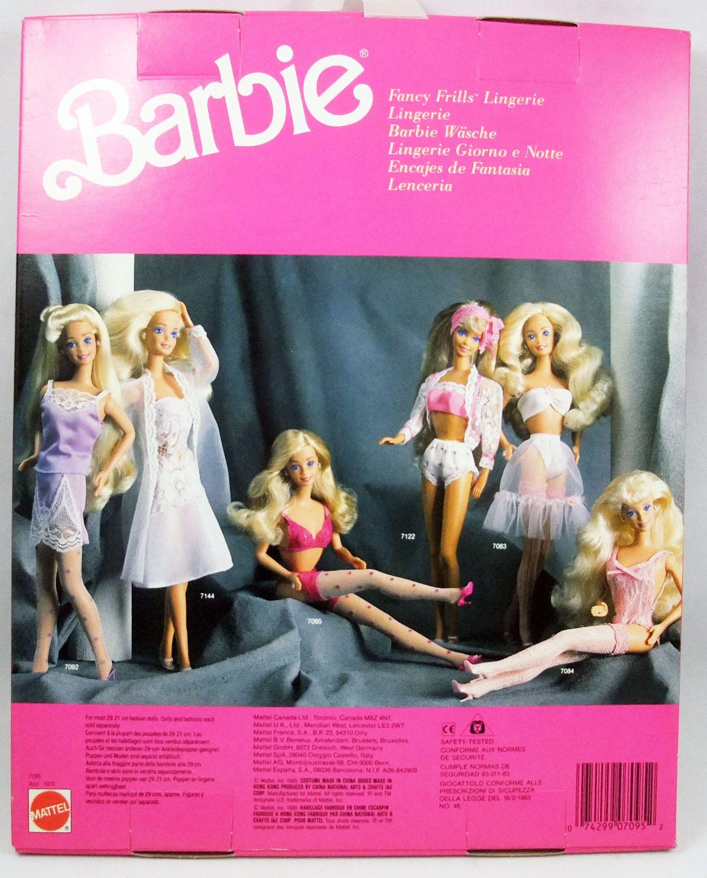 Barbie - Fancy Frills Lingerie - Mattel 1989 (ref.7095)