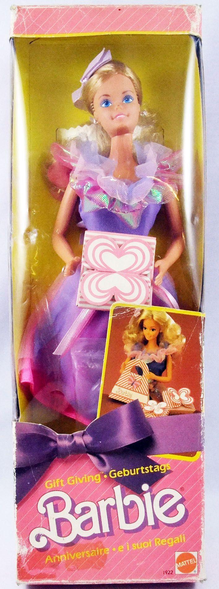Barbie - Gift Giving Barbie Anniversaire - Mattel 1985 (ref.1922)
