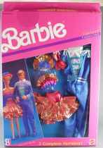 Barbie - Habillage Fantasy Fashion 2 Tenues Barbie & Ken - Mattel 1989 (ref.8242)