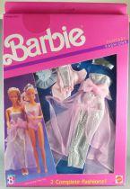 Barbie - Habillage Fantasy Fashion 2 Tenues Reine de Beauté - Mattel 1989 (ref.8242)