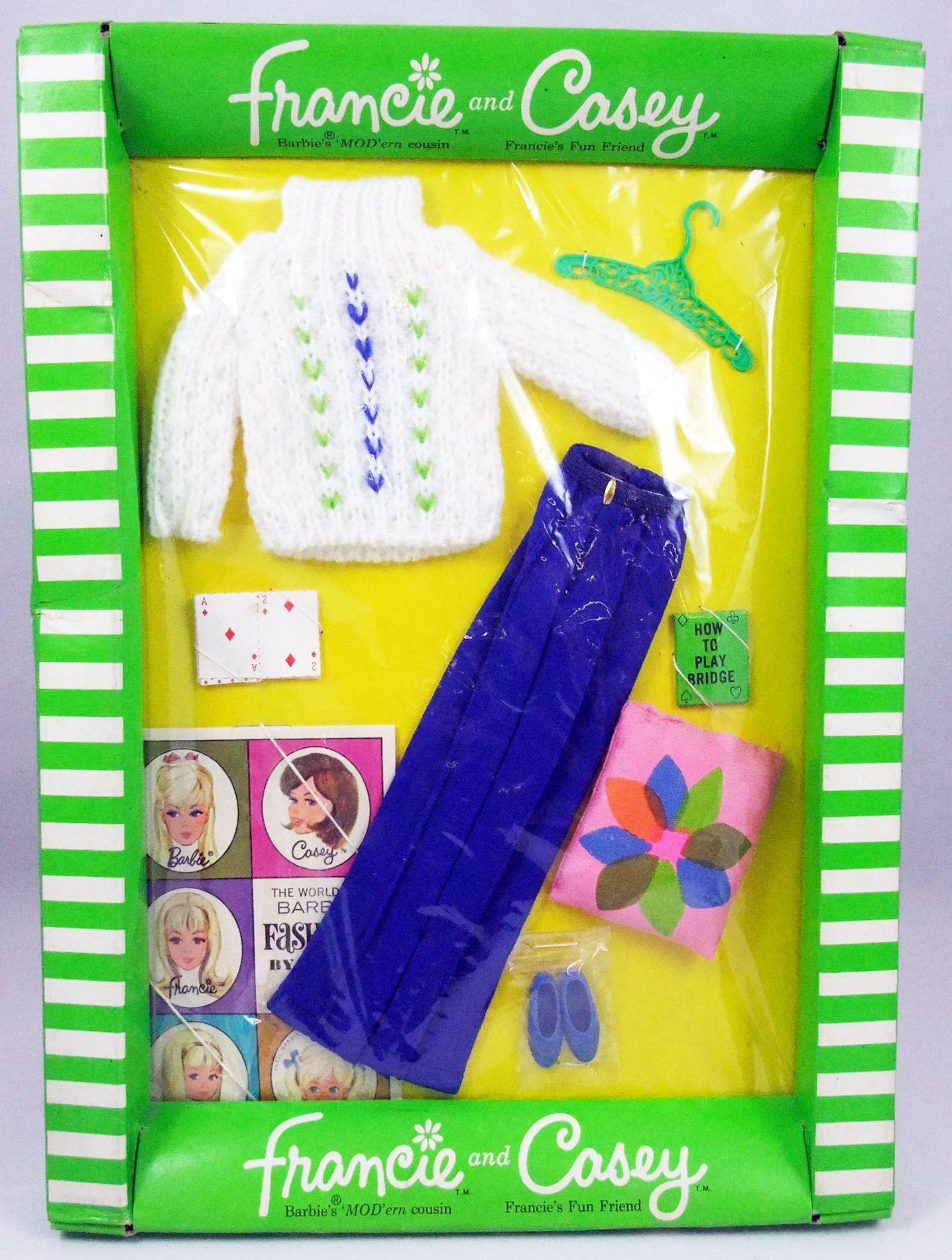"Barbie - Habillage Francie & Casey \""The Bridge Bit\"" - Mattel 1967 (ref.1279)"