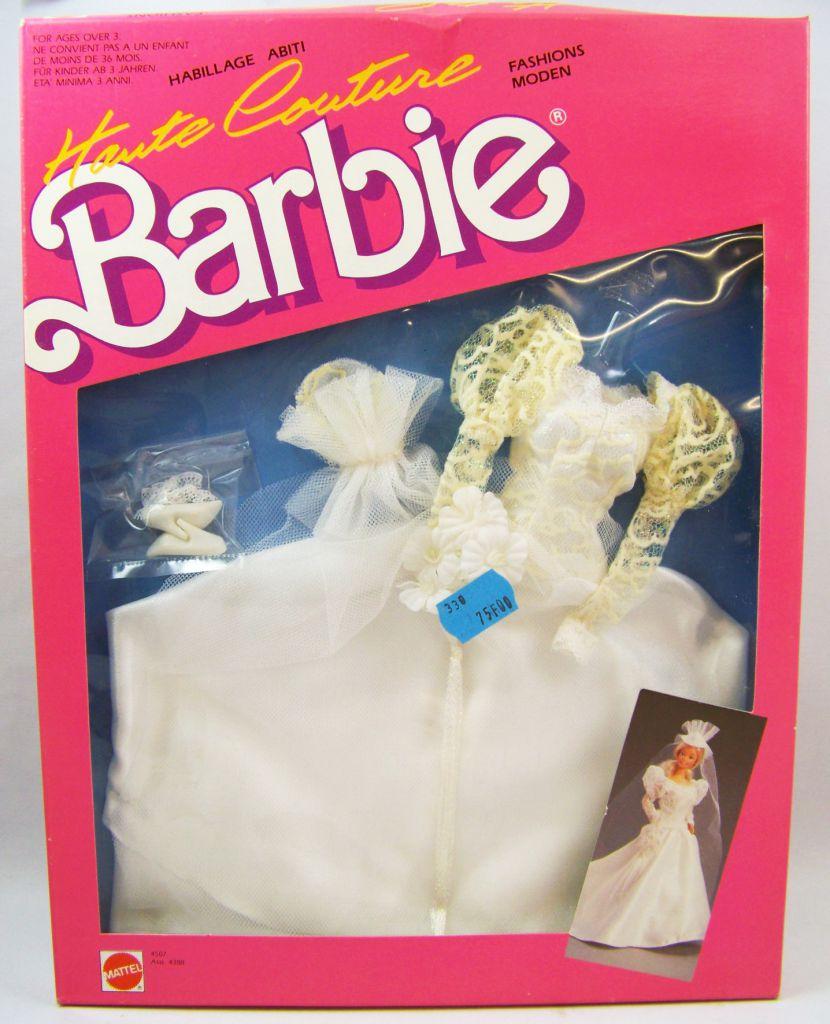 Barbie - Habillage Haute Couture - Mariée - Mattel 1987 (ref.4507)