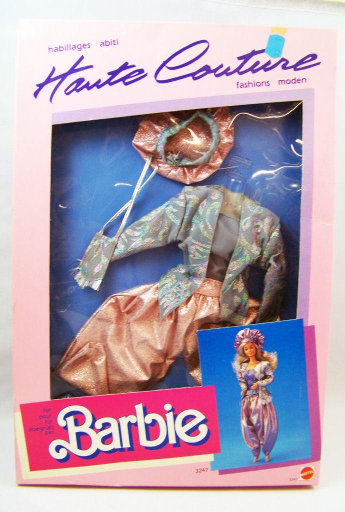 Barbie - Habillage Haute Couture - Mattel 1986 (ref.3247)