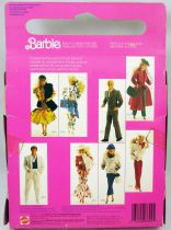 Barbie - Habillage Prêt-à-porter pour Barbie - Mattel 1986 (ref.3302)