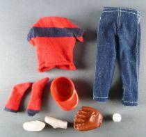 Barbie - Habillage Ricky Little Leaguer - Mattel 1965 (ref.1504)