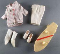 Barbie - Habillage Ricky Skateboard Set - Mattel 1966 (ref.1505)