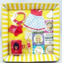 "Barbie - Habillage Tutti & Chris \""Let\'s Play Barbie\"" - Mattel 1966 (ref.3608)"