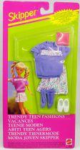 Barbie - Habillage Vacances pour Skipper - Mattel 1992 (ref.65256)