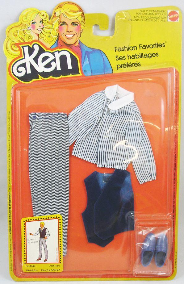 Barbie - Habillages Préférés de Ken - Mattel 1980 (ref.1947)