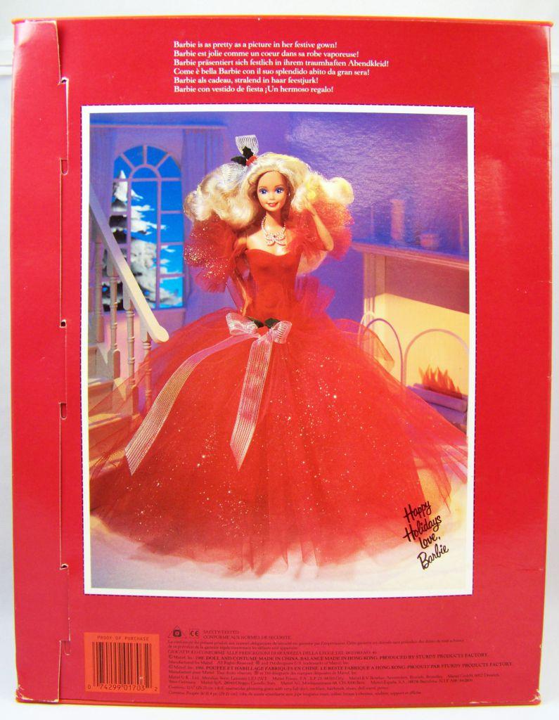 Barbie - Happy Holidays Special Edition - Mattel 1988 (ref.1703)