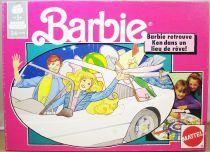 """Barbie - Jeu de société - \""""Barbie retrouve Ken dans un lieu de rêve!\"""" - Mattel 1990 ref.8622"""