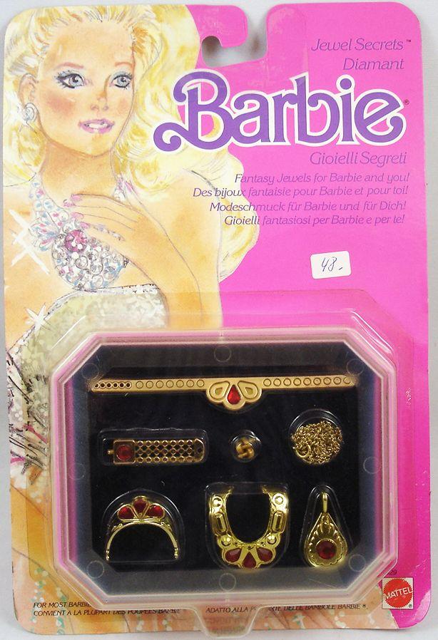 Barbie - Jewel Secrets Diamant - Mattel 1986 (ref.1929)