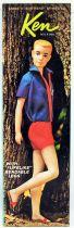 Barbie - Ken, Barbie\'s Boyfriend (brun) - Mattel 1964 (ref.1020)