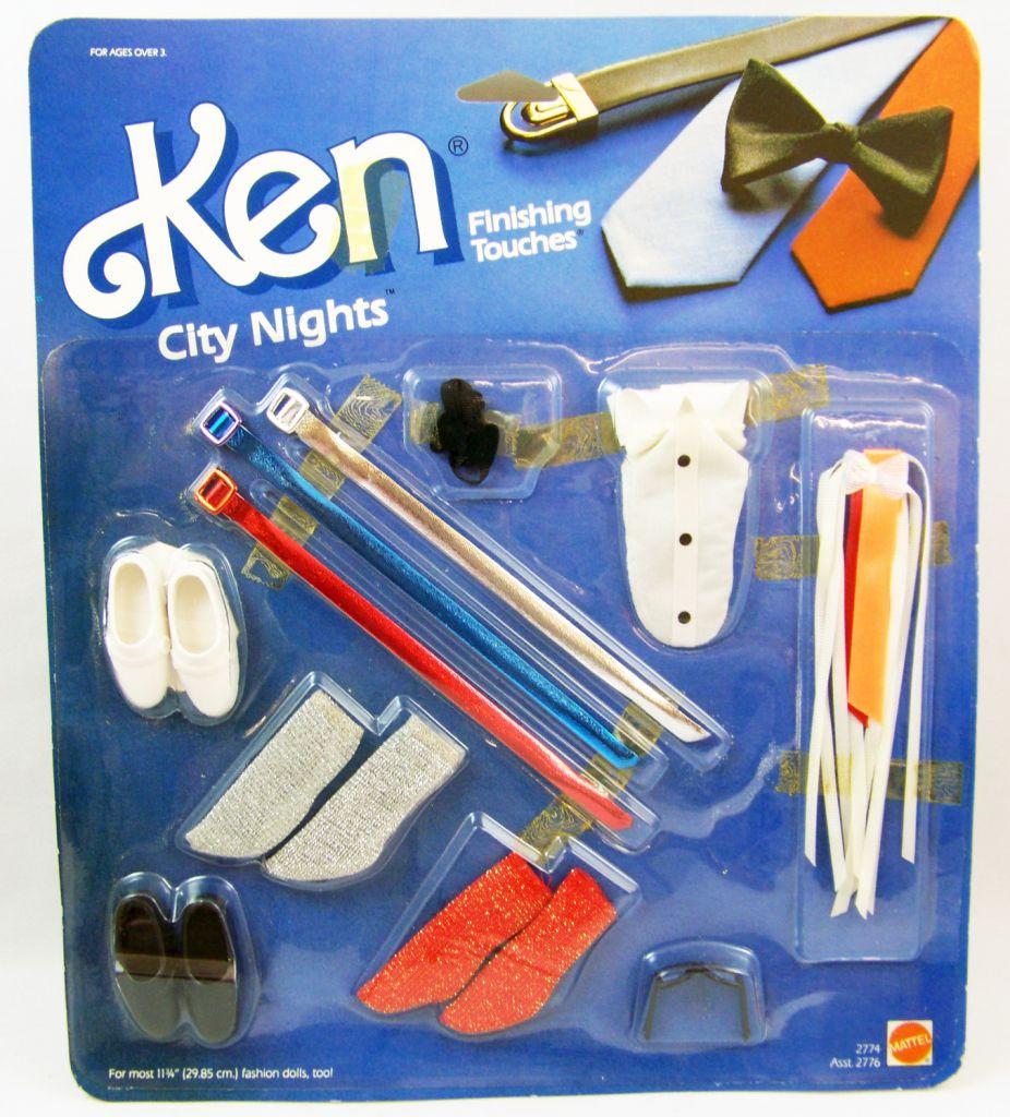 Barbie - Ken Finishing touches (City Nights) - Mattel 1985 (ref.2774)