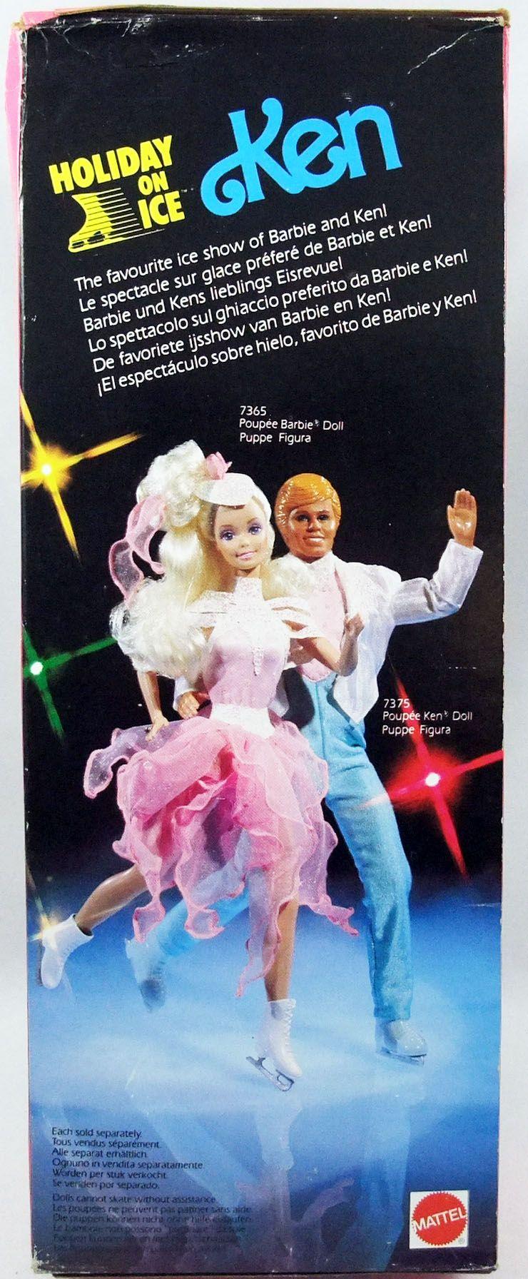 Barbie - Ken Holiday On Ice - Mattel 1989 (ref.7375)