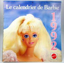 Barbie - Le Calendrier de Barbie Année 1992