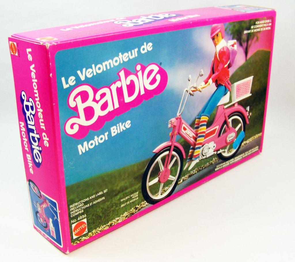 Barbie - Le Velomoteur - Motor Bike - Mattel 1983 (ref.4856)