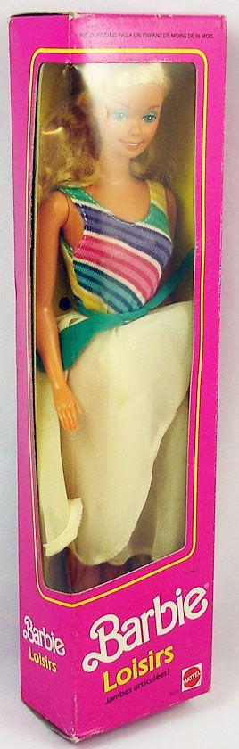 Barbie - Party Cruise Barbie Loisirs - Mattel 1986 (ref.3075)