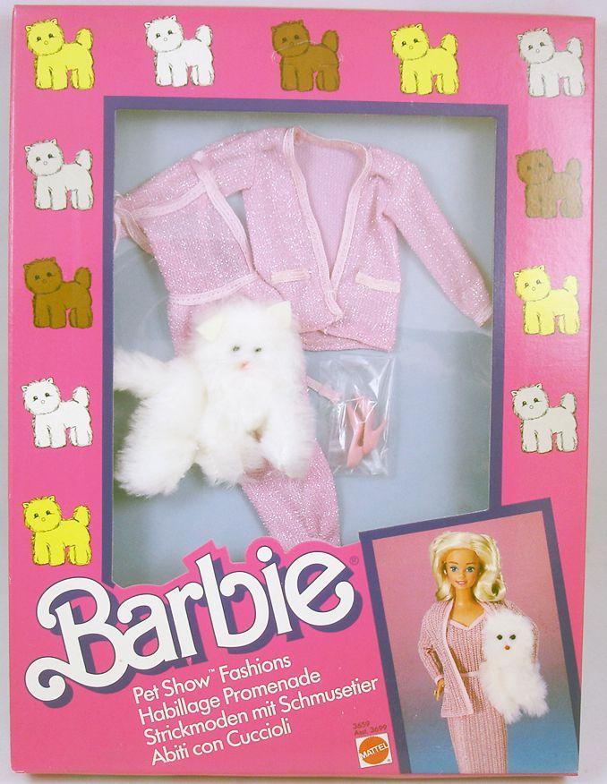 Barbie - Habillage Promenade Barbie - Mattel 1986 (ref.3659)