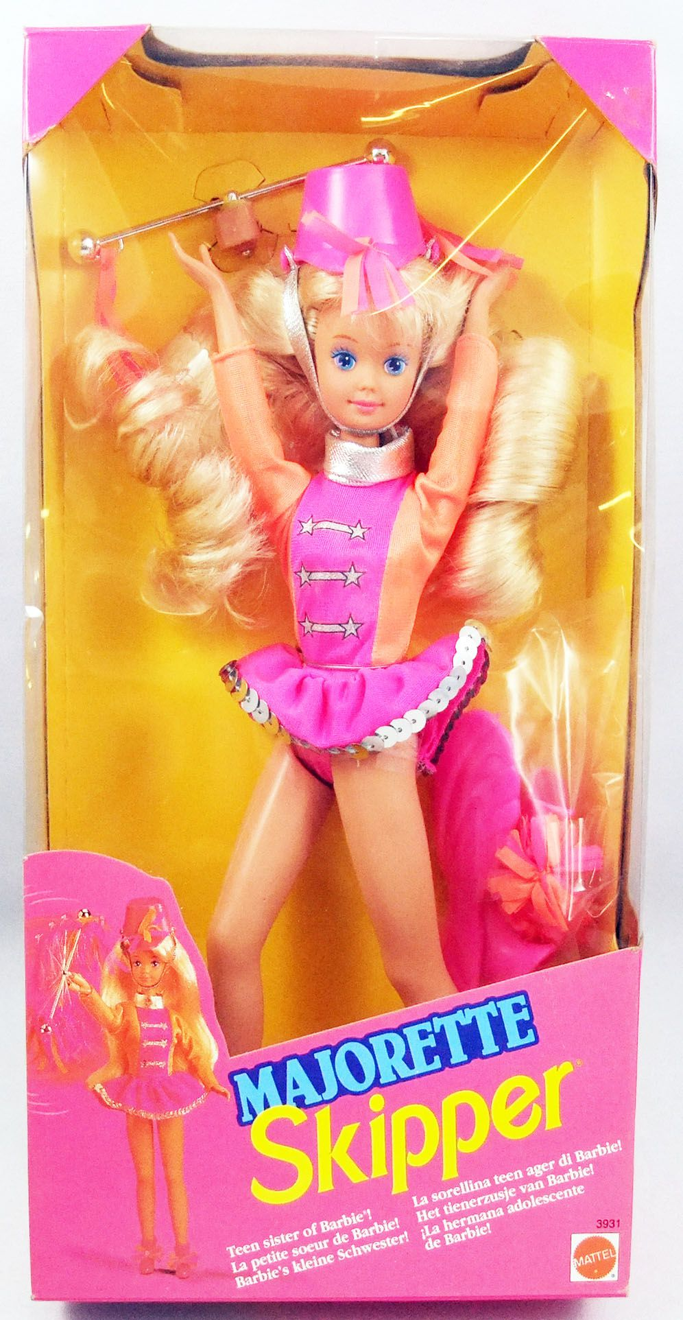 Barbie - Skipper Majorette - Mattel 1992 (ref.3931)