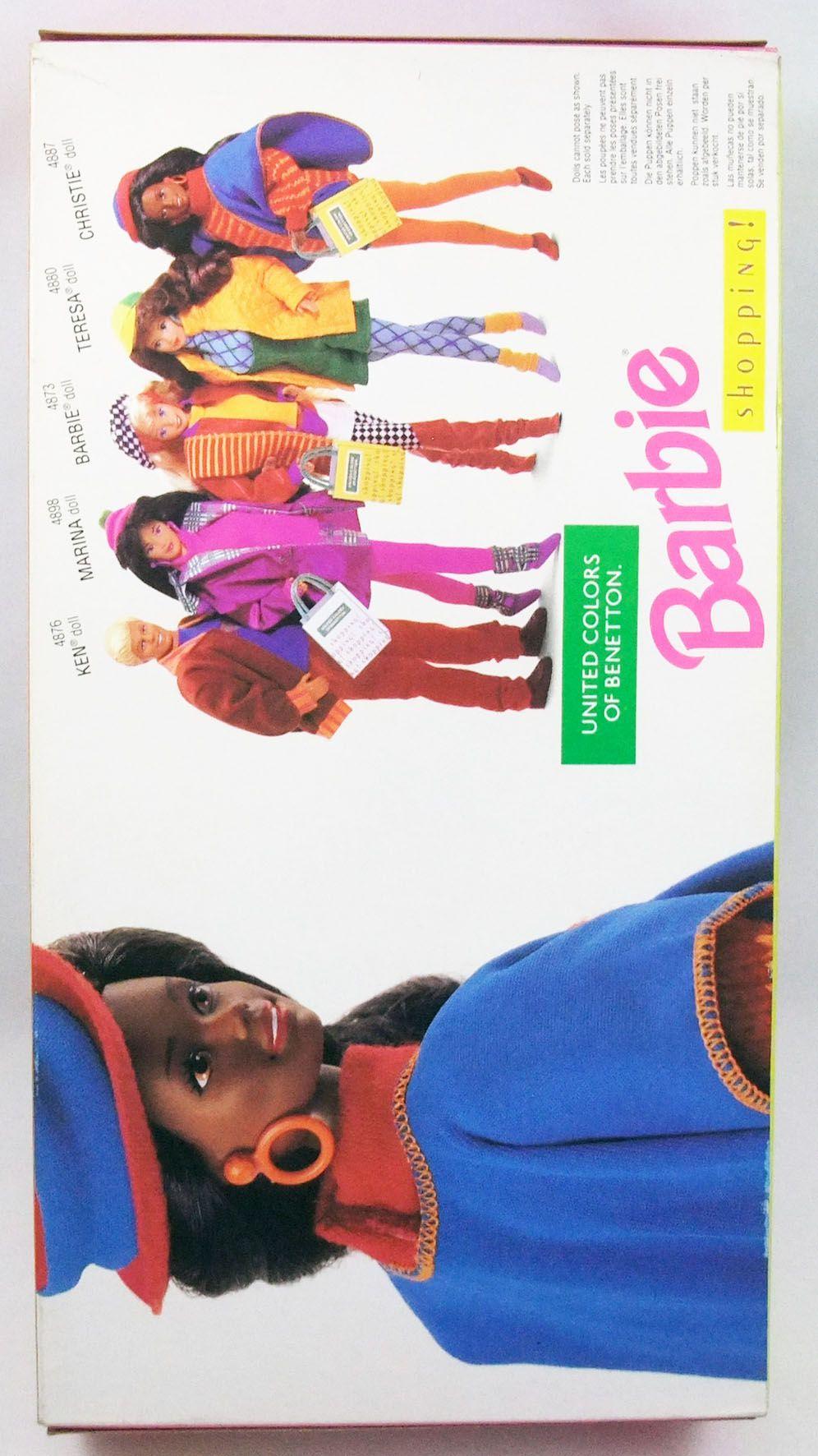 Barbie - United Colors of Benetton Shopping! Christie - Mattel 1991 (ref.4887)