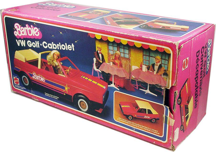 Barbie - VW Golf Convertible Décapotable - Mattel 1981 (ref.8298)